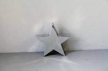 MEDIUM  STAINLESS STEEL TABLE TOP STAR