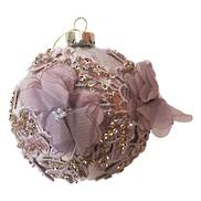 DUSKY FLOWER EMBELLISHED BALL HANGER