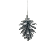 FROSTED PINECONE HANGER (12)