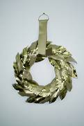 50CMD GOLD LEAF WREATH