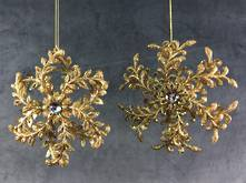 SET2, GOLD SNOWFLAKES