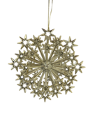 GOLD MULTIPLE STAR HANGER