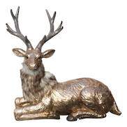 LAYING CHAMPAGNE DEER