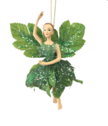 18CM GARDEN FAIRY IN GREEN