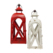 LARGE RED & SMALL WHITE LANTERNS