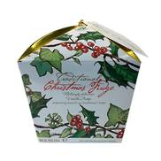 TRADITIONAL HOLLY CARTON (6) VANILLA FUDGE