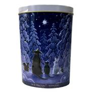 CHRISTMAS ANIMAL STAR GAZERS TIN (6)