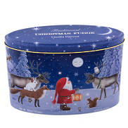 CHRISTMAS SANTA , FRIENDS & MOON TIN (6)