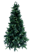 210CMH NATURAL PINE TREE W/ BROWN SPRIGS
