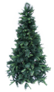 240CMH NATURAL PINE TREE W/ BROWN SPRIGS