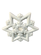 SNOWFLAKE TEALIGHT HOLDER (12)
