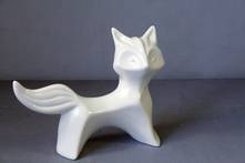 STYLISED STANDING CERAMIC FOX (6)