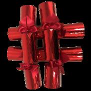 BOX36 BULK, 33CM RED DIAMOND CRACKERS