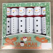 BOX6, 30CM PIN THE NOSE ON THE SNOWMAN CRACKERS (6)