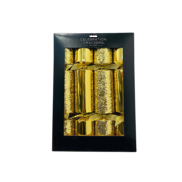 BOX6, 30CM DELUXE GOLD GLITTER MIX CRACKERS (6)