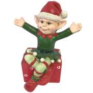 BOY ELF ON GIFT