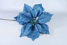 METALLIC BLUE POINSETTIA (12)