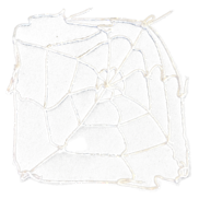5FT WHITE SPIDER WEB (6)