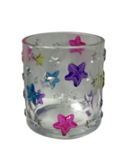 MULTICOLOUR STAR VOTIVE HOLDER (6)