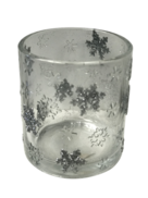 SILVER SNOWFLAKE VOTIVE HOLDER (6)