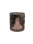 LIGHT PURPLE STAR SILVER INSIDE VOTIVE (6)