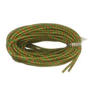 RED/GREEN/GOLD STRETCHY TUBE RIBBON (6)