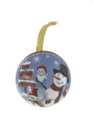SNOWMAN PARTY METAL HANGING BALL (12)