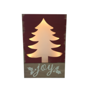TREE 'JOY' LIGHT UP BOX