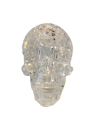 LIGHT UP CRYSTAL SKULL