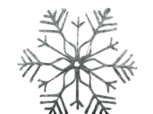 LARGE BATTERY LIGHTUP SNOWFLAKE