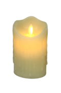12CMH LARGE CREAM LED WAX CANDLE (6)
