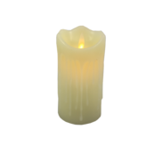 12CMH LARGE WHITE LED WAX CANDLE (6)