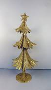 41CMH GOLD METAL GLITTER TREE