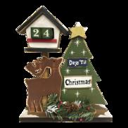 DEER/TREE DAYS TILL CHRISTMAS