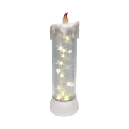 WHITE STAR CANDLE