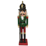44CMH GREEN NUTCRACKER WITH GUN