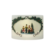 OVAL WAX CANDLE LED CAROLLERS