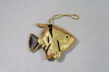 HAND EMBROIDERED ANGEL FISH (2)