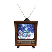 SNOWING RETRO TV