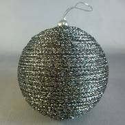 PLATINUM THREAD BAUBLE (12)