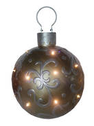 36CMD GOLD LED BAUBLE