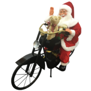 SANTA ON MOTOR BIKE