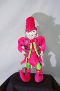 PINK/GREEN SMILING ELF 1PT HAT