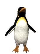 IMITATION CHRISTMAS FEMALE PENGUIN