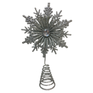 23CMH SILVER SNOWFLAKE TREE TOPPER (6)
