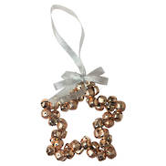 COPPER METAL STAR HANGER (6)