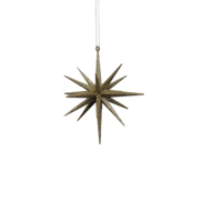 GOLD HANGING 3D STAR (12)