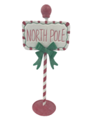 NORTH POLE CANDY SIGN