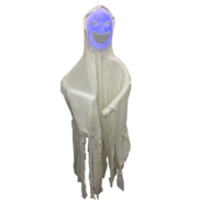 WHITE GHOST MOVING BLUE HEAD - NOISE ACTIVATED