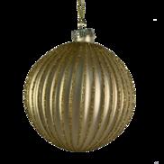 8CMD MATT GOLD RIBBED BALL HANGER (6)